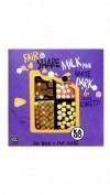 Kadoo Fair&Share Melk Roze Wit, Puur crispy confetti.