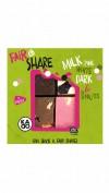 Kadoo Fair&Share White Milk Dark Pink mixed nuts.